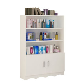 China Hierarchical Cosmetic Display Stand , Generous Cosmetic Display Racks Easy Install supplier