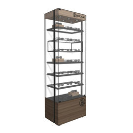 Multi Functional Eyeglass Display Case / Wall Mounted Sunglass Rack For High End Optical Shop