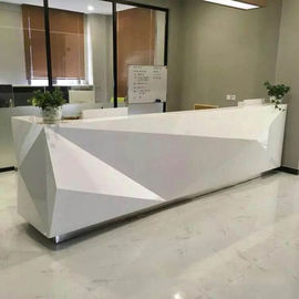 China Fashionable Shape Reception Desk Display Case Luxury For High End Company factory