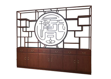 China Chinese Style Manager Office Furniture Antique Curio Shelves Interior Decoration factory