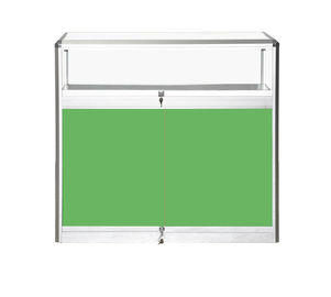 China Hierarchical Metal Pharmacy Cabinet , Green Pharmacy Storage Racks High Capacity factory